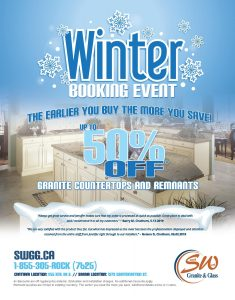 Winter booking flyer